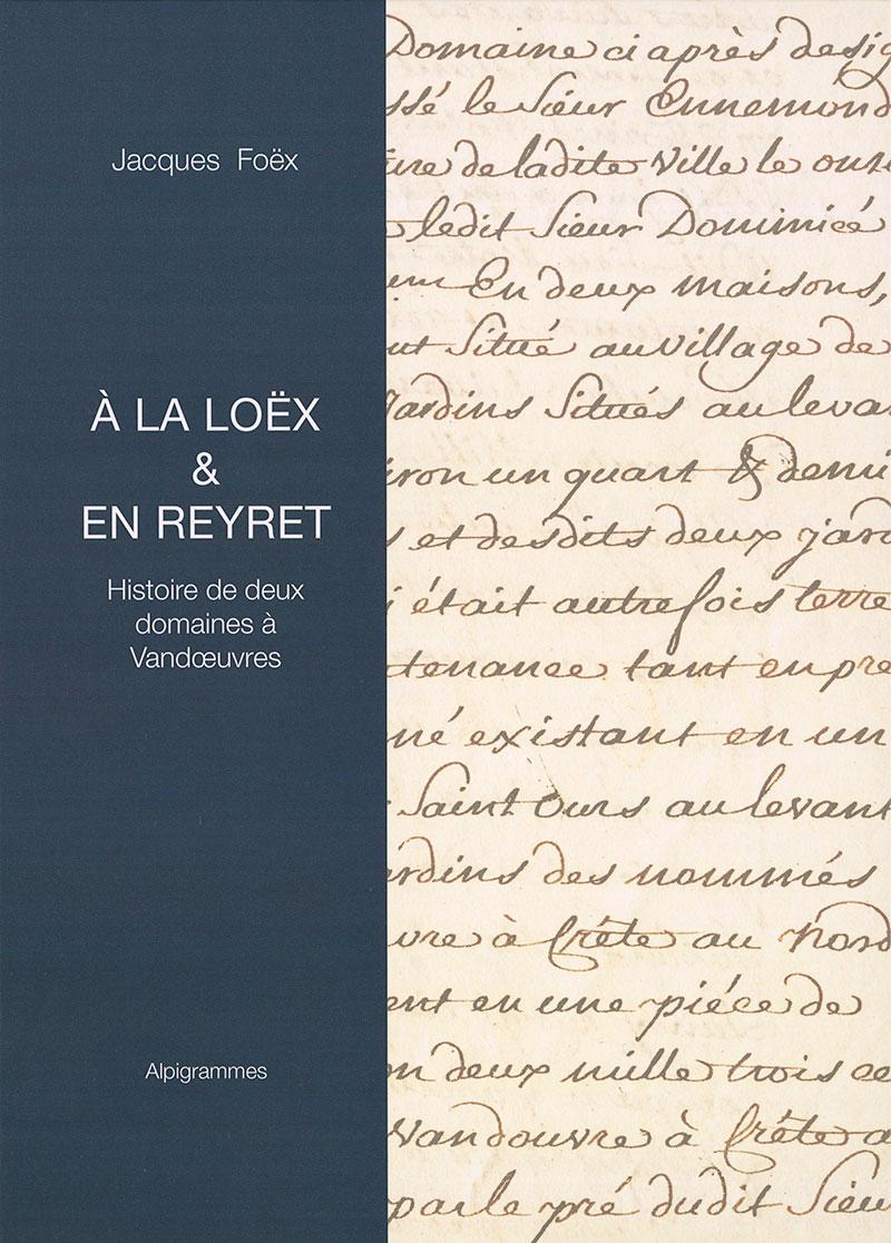 Couverture de À la Loëx & En Reyret